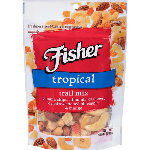 Fisher® Tropical Trail Mix 3.5 oz. Bag