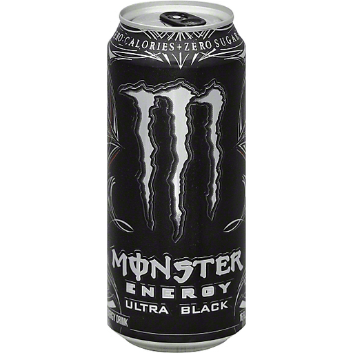 Monster Energy Energy Drink, Ultra Black
