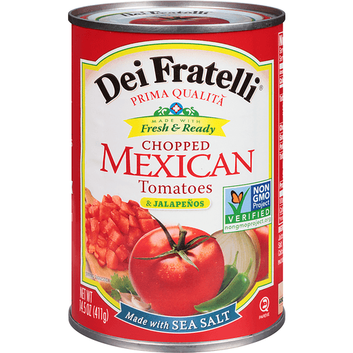 Dei Fratelli Chopped Mexican Tomatoes & Jalapenos