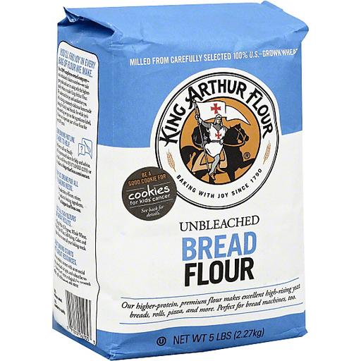 King Arthur Flour Bread Unbleached Flour 5 Lb. Bag