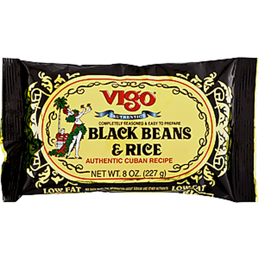 Vigo Black Beans & Rice, Authentic