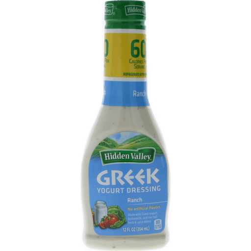 Hidden Valley Dressing, Greek Yogurt, Ranch