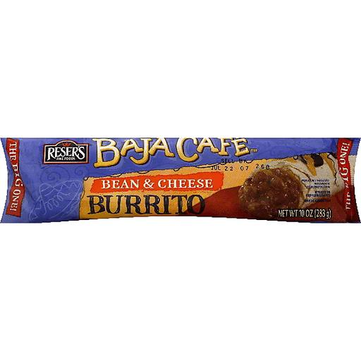 Baja Caf Baja Cafe Burrito, Bean & Cheese