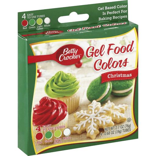 Betty Crocker Food Colors, Gel, Christmas
