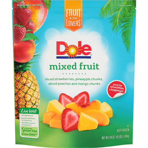 Dole® Mixed Fruit 64 oz. Stand Up Bag