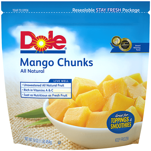 Dole® Mango Chunks 16 oz. Bag