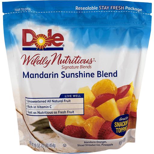 Dole Wildly Nutritious Signature Blends Mandarin Sunshine Blend