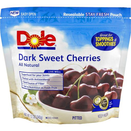 Dole Dark Sweet Cherries Pitted