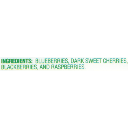Dole® Cherry Berry Blend Fruit 12 oz. Bag