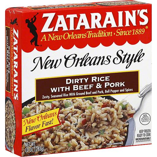 Zatarain S Dirty Rice With Beef Pork Shop Foodland Super Market Hawaii