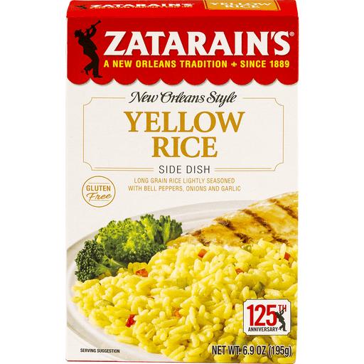 Zatarains Rice Side, Yellow Rice