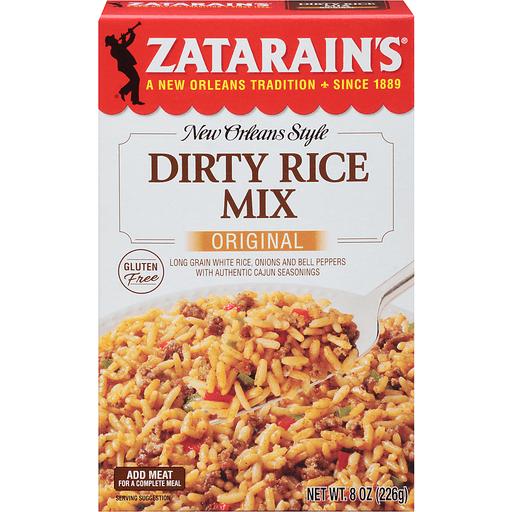 Zatarains Rice Dinner Mix, Dirty Rice