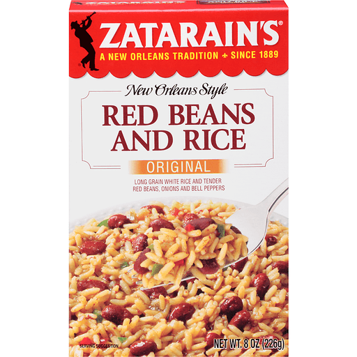 Zatarains New Orleans Style Red Beans and Rice, Original