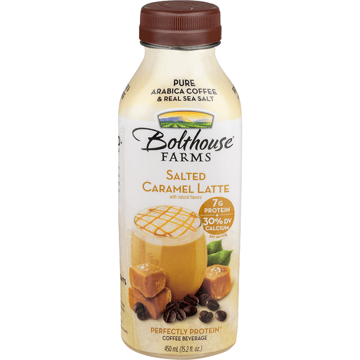 Bolthouse Farms Perfectly Protein Coffee Beverage, Salted Caramel Latte