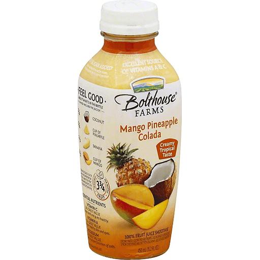 Fruit Juice Smoothie, Mango Pineapple