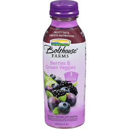 Bolthouse Farms 100% Fruit Juice Smoothie, Berries & Green Veggies