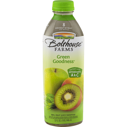 Bolthouse Farms 100% Fruit Juice Smoothie, Green Goodness