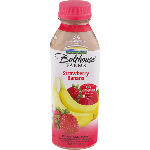 Bolthouse Farms 100% Fruit Juice Smoothie, Strawberry Banana