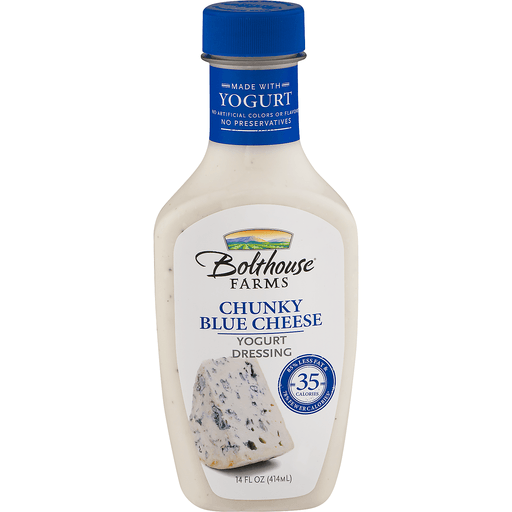 Bolthouse Farms Yogurt Dressing, Blue Cheese, Chunky