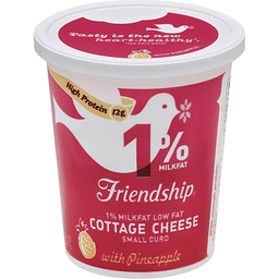 Friendship Cottage Cheese Lowfat With Pineapple