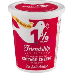 Friendship Cottage Cheese, No Salt Added