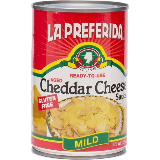 La Preferida Cheddar Cheese Sauce, Mild