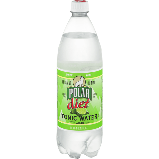 Polar Tonic Water Diet Lime