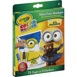 Crayola Color Wonder Markers Coloring Pad Minions | Bassetts Market ...