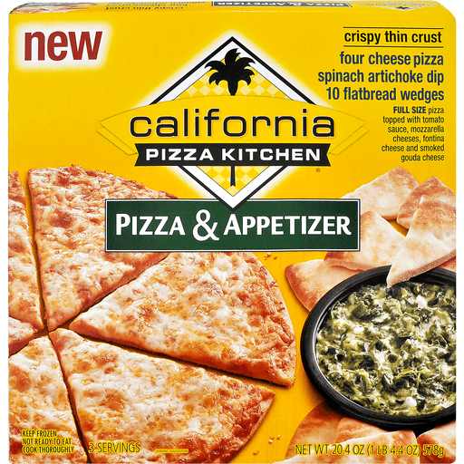 California Pizza Kitchen Crispy Thin Crust Pizza Appetizer Pizza Sun Fresh
