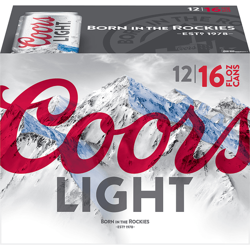 Coors Light® Beer 12-16 fl. oz. Cans