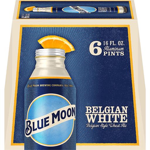 Blue Moon Beer, Belgian Wheat Ale, Belgian White
