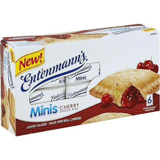 Entenmann's Minis Snack Pies Cherry - 6 CT