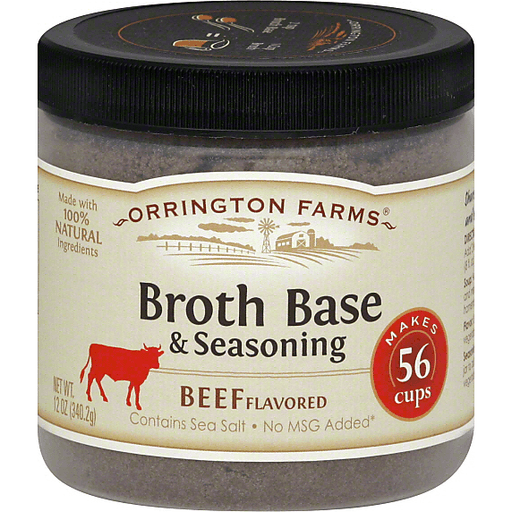 Orrington Farms Broth Base & Seasoning Beef