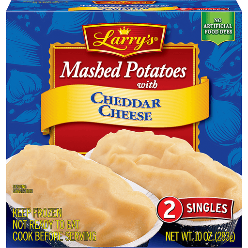 Larrys Mashed Potatoes, with Cheddar Cheese