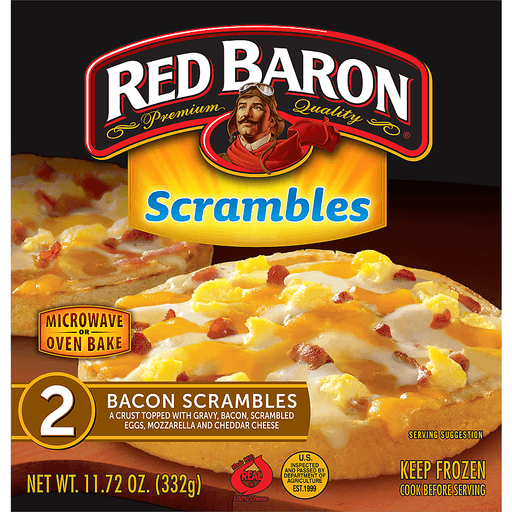 Red Baron Scrambles, Bacon