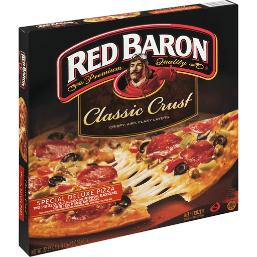 Red Baron Pizza, Classic Crust, Special Deluxe