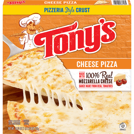 Tonys Pizza, Pizzeria Style Crust, Cheese