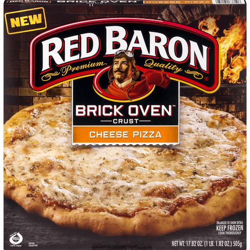 Red Baron Pizza, Brick Oven Crust, Cheese-Trio
