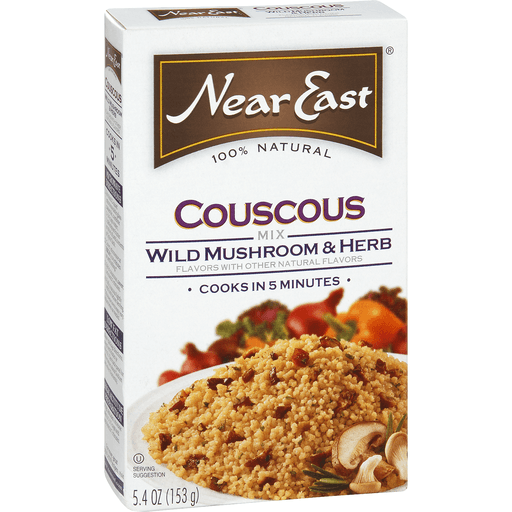Near East Couscous Mix, Wild Mushroom & Herb Flavors