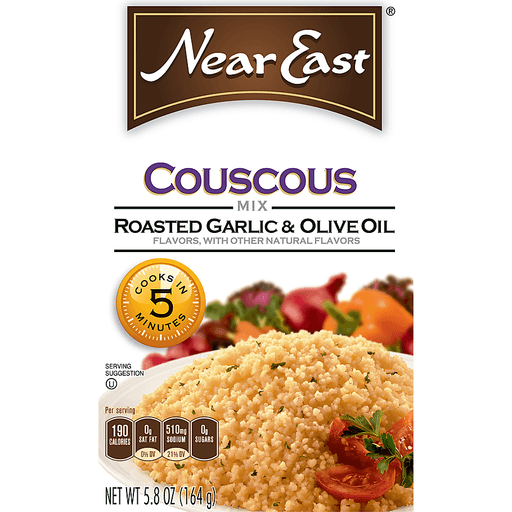Near East Couscous Mix, Roasted Garlic & Olive Oil