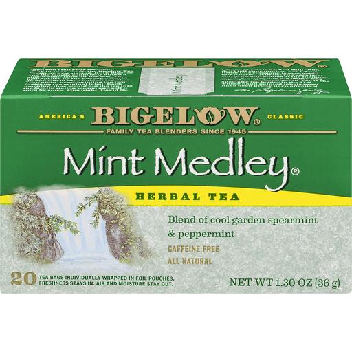 Bigelow Tea, Herb, Mint Medley, Bags