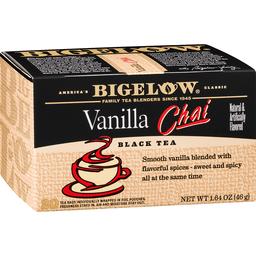 Bigelow Black Tea, Vanilla Chai, Bags