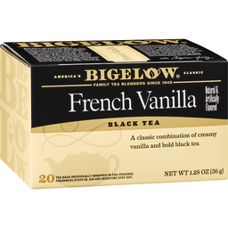Bigelow Black Tea, French Vanilla, Bags