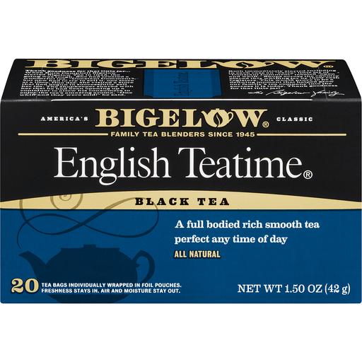 Bigelow Black Tea, English Teatime, Bags