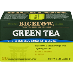 Bigelow Green Tea with Wild Blueberry Acai Bags | Wests Plaza