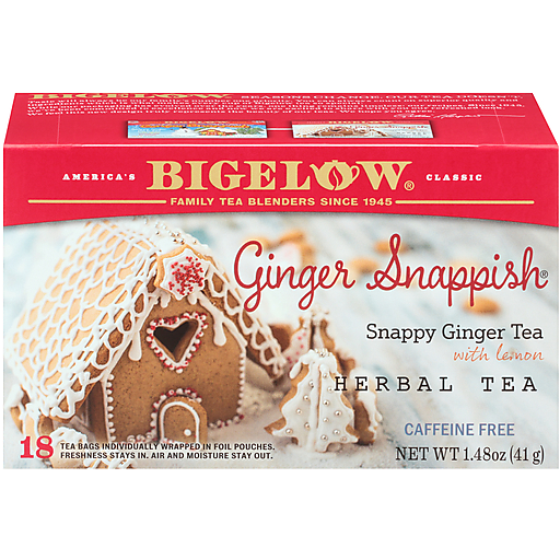 Bigelow Ginger Snappish Tea
