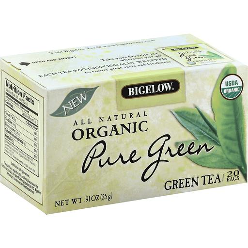 Bigelow Green Tea, Organic, Pure Green