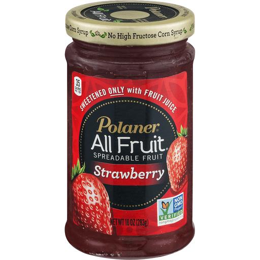 Polaner All Fruit Spreadable Fruit, Strawberry