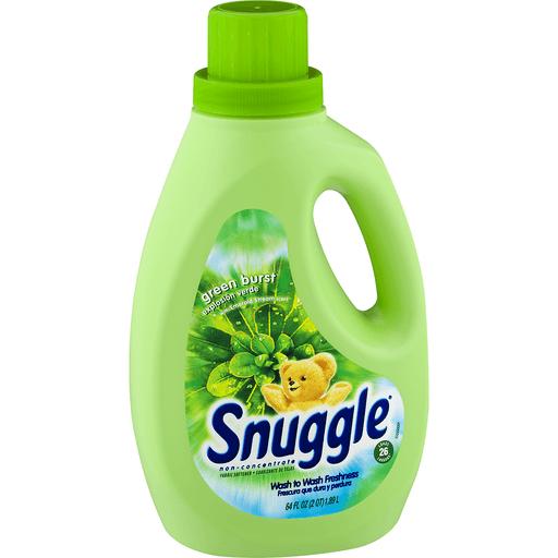 Snuggle Fabric Softener, Green Burst