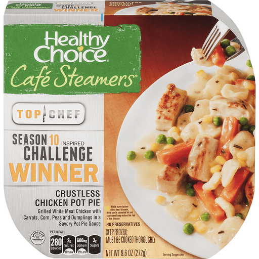 Healthy Choice Cafe Steamers Crustless Chicken Pot Pie